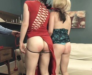 Extreme ass to mouth and ATOGM for humiliated bondage bitches
