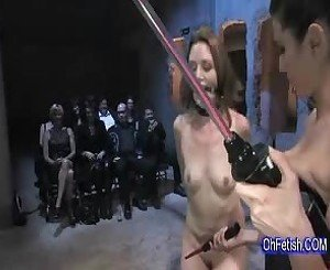 making her hot pussy sweat