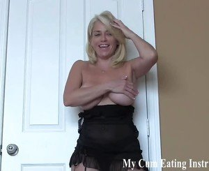I have been waiting to help you cum all night JOI