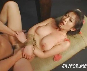 Japanese bondage loving beauty