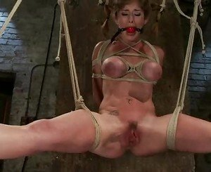 Luscious babe Felony gets her moist pussy tormented