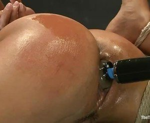 Blistering Layla Storm gets her moist pussy fingered
