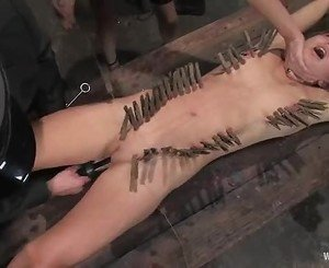 Roasting Princess Donna torments this horny babe