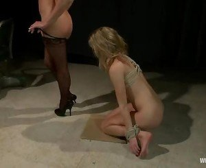 Roasting Chastity Lynne licks out Nikki Hunters snatch