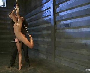 Sizzling Skin Diamond gets tied up & tormented